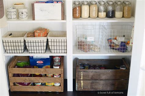 Pantry Floor Organizer Organizing Challenge Week 2 Pantry A Bowl Of Lemons