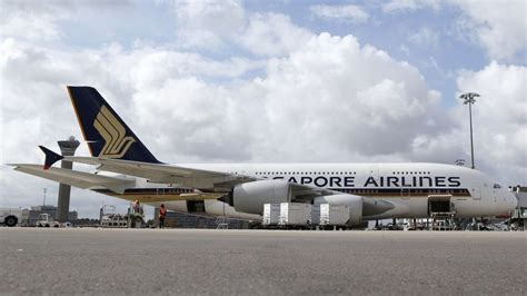 singapore airlines drops airbus  plane bbc news