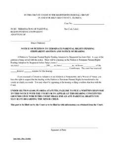 petition terminate rights fill online printable fillable blank pdffiller