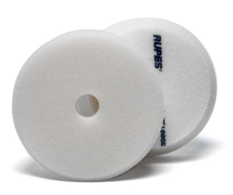 Rupes 180mm Finishing Pad White rupes 100 mm 4 inch white finishing foam pad