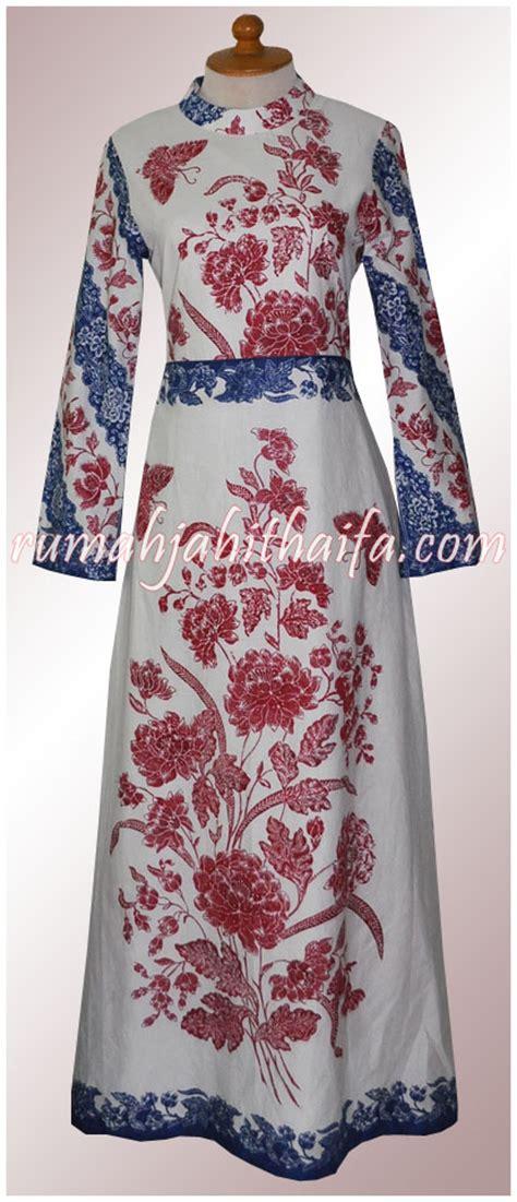 Butik Gamis Batik gamis batik rumah jahit haifa part 6