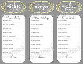 Wishes For Baby Printable Template 5 best images of free printable baby wishes template