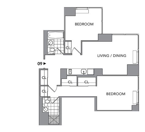 Silver Towers Floor Plans by Silver Towers 620 West 42nd St Nyc Rentals Manhattan