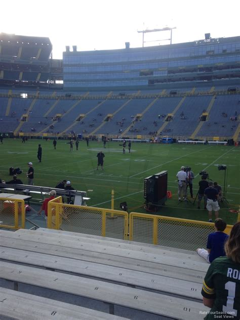section 115 lambeau field lambeau field section 115 rateyourseats com