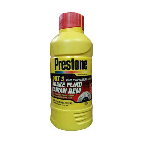 Minyak Rem Dot 3 jual prestone dot 3 brake fluid neutral minyak rem merah