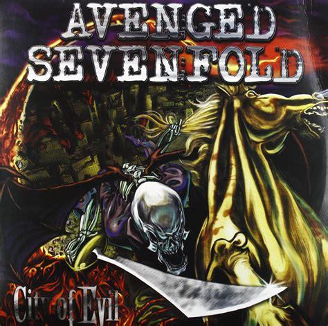Avenged Sevenfold City Of Evil A7x Kaos 2 Sisi Ukuran S avenged sevenfold city of evil