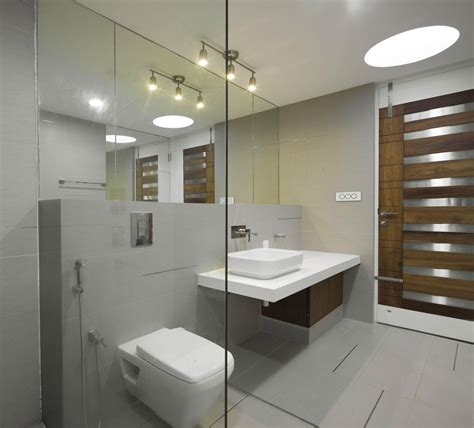 Modern Bathroom Design Kerala Imposing Eye Catching And Mysterious The Running Wall