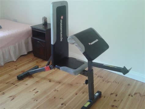maximuscle bench maximuscle preacher curl bench for sale in kilcullen