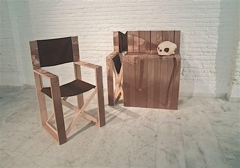 Kursi Lipat Sutradara meja dari kursi desain furnitur multifungsi unik desain