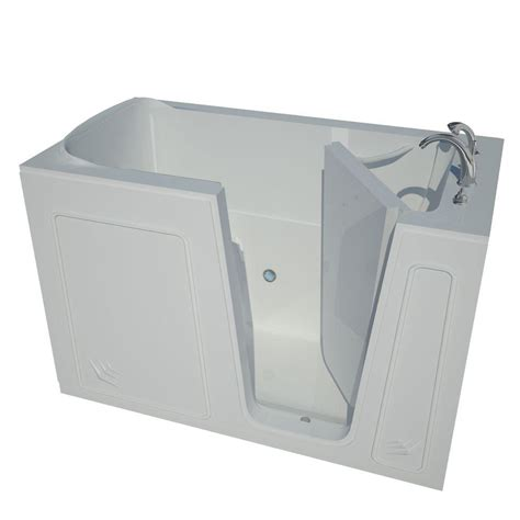 walk in bathtub home depot universal tubs 5 ft right drain walk in bathtub in white hd3260rws the home depot
