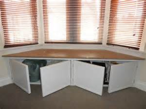 bay window bench with storage woodworking projects amp plans