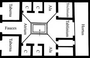 Modern Roman Villa Floor Plan by Modern Roman Villa Floor Plan Also See The Plan