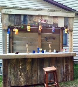 Our Backyard Pub Our Back Yard Entertainment Area Beside Our Back Deck And