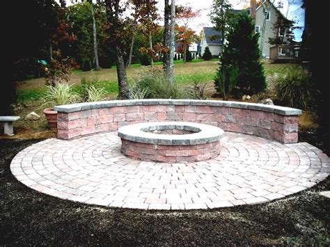 nh landscape fire pit steps how to make a backyard pit hgtv cool garden ideas