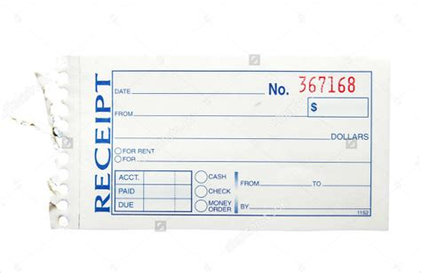 pre paid rent receipt template 26 blank receipt templates doc excel pdf vector eps