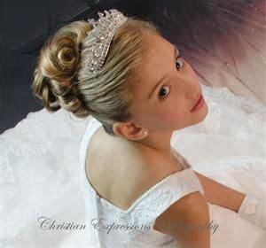 communion hairstyles with headband veil first communion tiara veils hairstyles pinterest