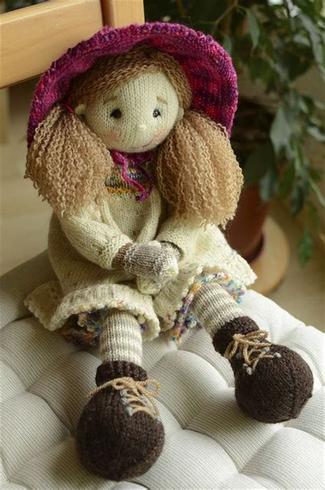 lottie doll knitting pattern the 25 best knitted dolls ideas on