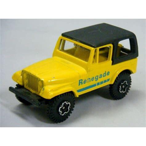 matchbox jeep renegade playart jeep cj7 renegade