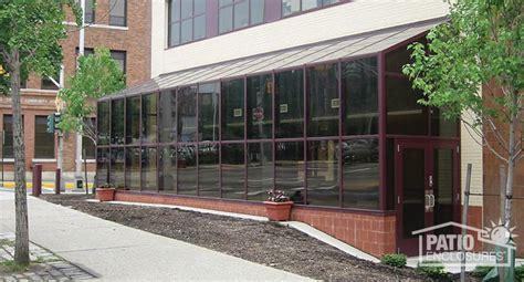 commercial patio enclosures commercial sunroom pictures patio enclosures
