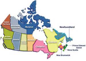 map of canada with regions canadian transplant support regions