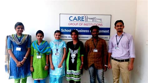 Csbm Mba by Care At Ventura 18 E Cell Nit Trichy Care Business School