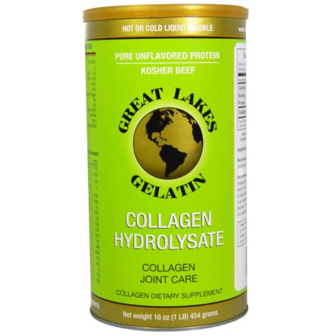Hydrolyzed Collagen great lakes advanced formula collogen hydrolysate powder