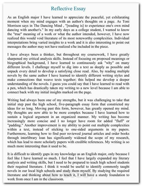 apa format narrative essay exle short narrative essay sle exles of an outline for a