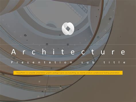 Architecture Animated Ppt Template Youtube Architectural Powerpoint Templates