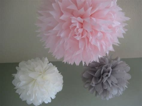 How To Make Tissue Paper Puff Balls - tissue paper puff balls