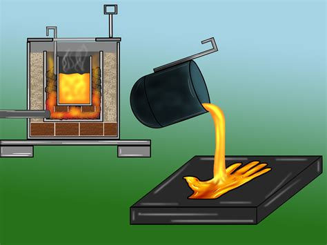 how to build a metal melting furnace for 15 steps