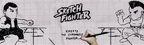 membuat game othello sketch fighter game pertarungan ala coretan sketsa hitam