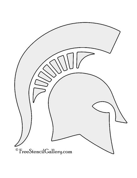 spartan mask template spartan helmet stencil free stencil gallery