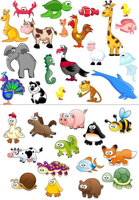 animal clipart beautiful animals vector free