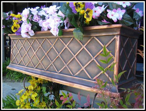 armorecoat la fleur window box is copper window box - Copper Window Box