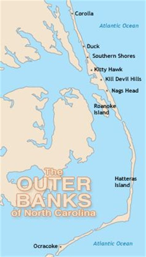 obx map outer banks map stayed everywhere from south nags