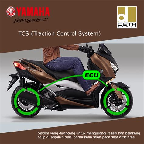 fitur xmax tcs traction control system kredit motor