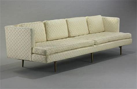 Dunbar Upholstery by Edward Wormley Sofa Model 4907a Dunbar Usa C 1949