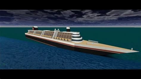 poseidon ship roblox poseidon sinking youtube