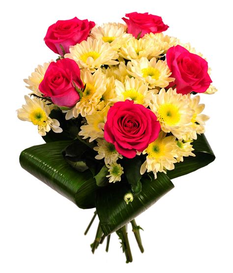bouquet of roses and chrysanthemums