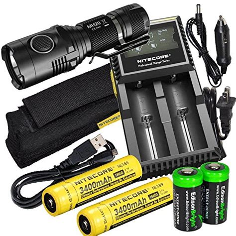 Nitecore Mh20 Flashlight 1000 Lumens nitecore mh20 cree led 1000 lumen usb rechargeable