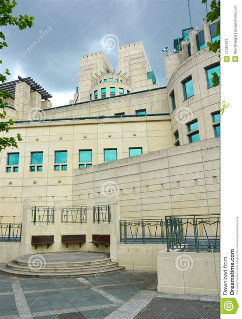 military intelligence section 5 mi5 british security service building editorial