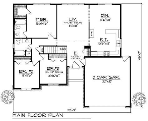 17 Best Images About Floorplans With Bedrooms Grouped Ranch House Plans With Bedrooms Together
