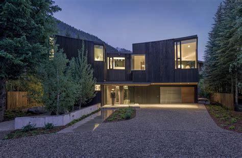 Small Home Architects Colorado Blackbird House In Aspen Colorado Residence E Architect