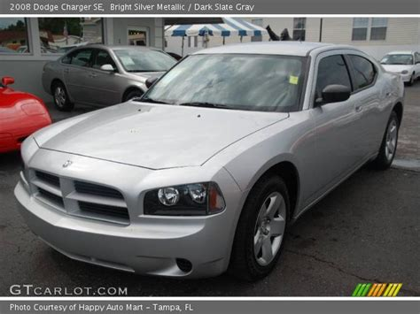 2008 silver dodge charger bright silver metallic 2008 dodge charger se