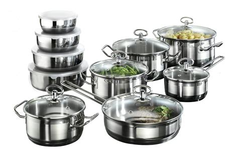 Karcher Jasmin Cookware Set with 4 Bowls