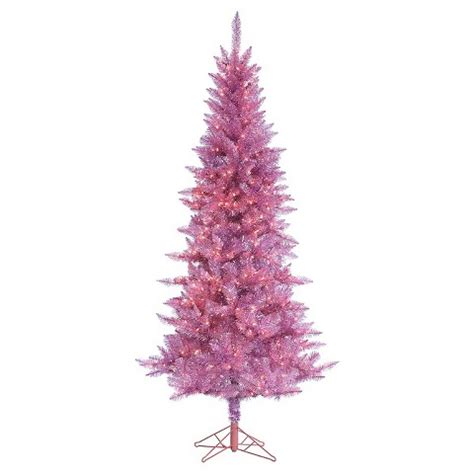 7 5 tiffany tinsel artificial christmas tree wi target