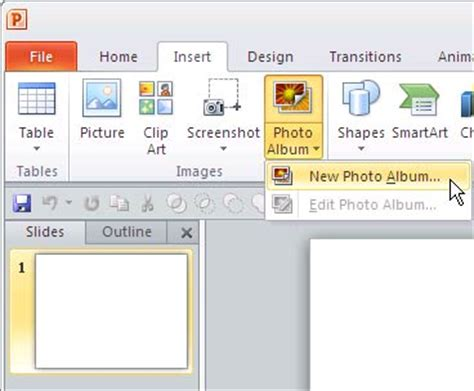 new design for powerpoint 2010 create photo album in powerpoint 2010 for windows