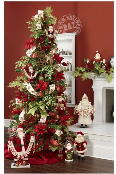 25 themed christmas trees for 2013 by raz style estate