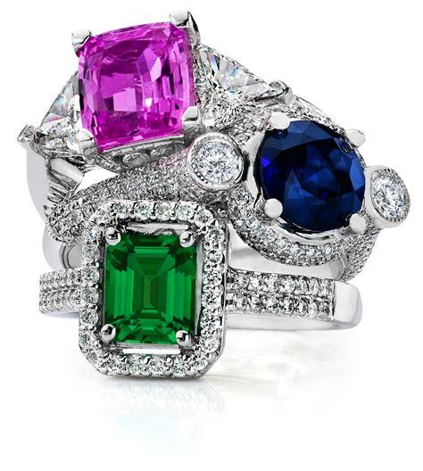 faux gemstone rings my faux