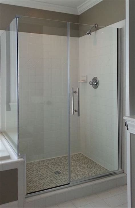17 Best Images About Shower Doors On Pinterest Custom Swinging Glass Shower Door